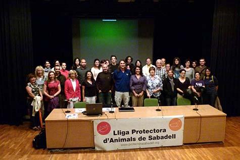 Congres de Dog's Trust a Barcelona i al refugi