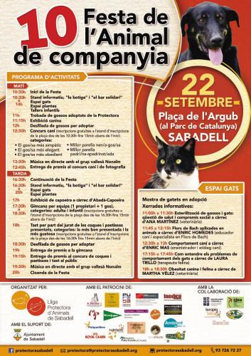 10a Festa de l'Animal de Companya