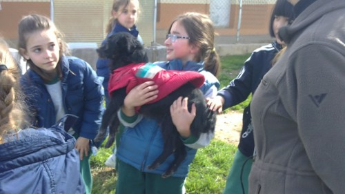Visita Escola La Vall