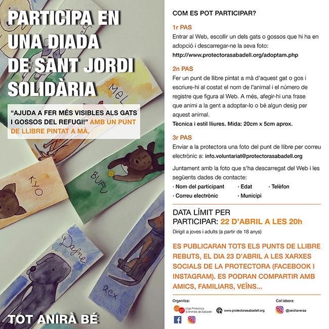St. Jordi solidario 2020
