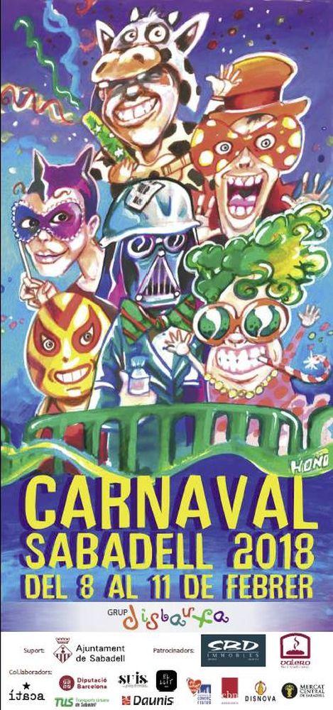 letrero carnaval