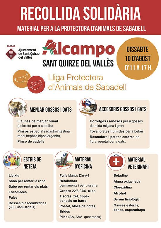 cartel Alcampo
