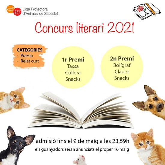 Concurso literario letrero 2021