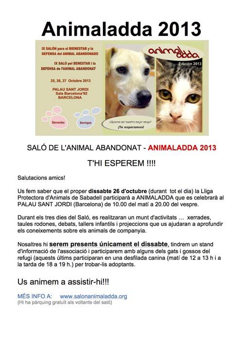 Animaladda 2013