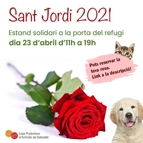 St Jordi 2021